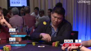 asian poker tour manila millions 72 apt super high roller event hand bluff allen le