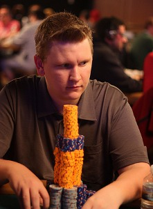 ben lamb wsop 2011 main event chip leader winner