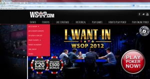 i want in wsop 2012 banner uk