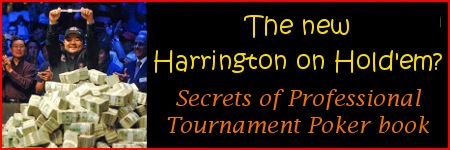 Secrets of Professional Tournament Poker Volume 1 written by Jonathan Little book review