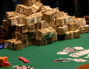 world series of poker profit wsop 2012 Caesars Entertainment Corporation prizepools revenue