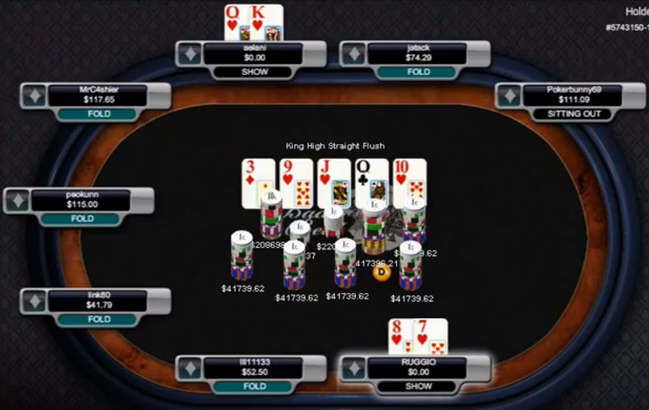 What is bad beat in texas holdem poker