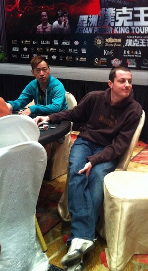 Poker King Club Macau and Tom Dwan plays the APKT High Roller event and the macau Big Game
