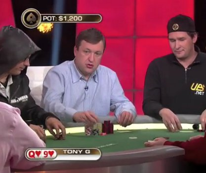 Tony G Phil Hellmuth million euro challenge poker heads up HU game battle WPT Malta