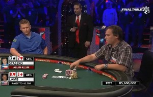 2011 wsop main event final table 3 ben lamb kj martin staszko 77